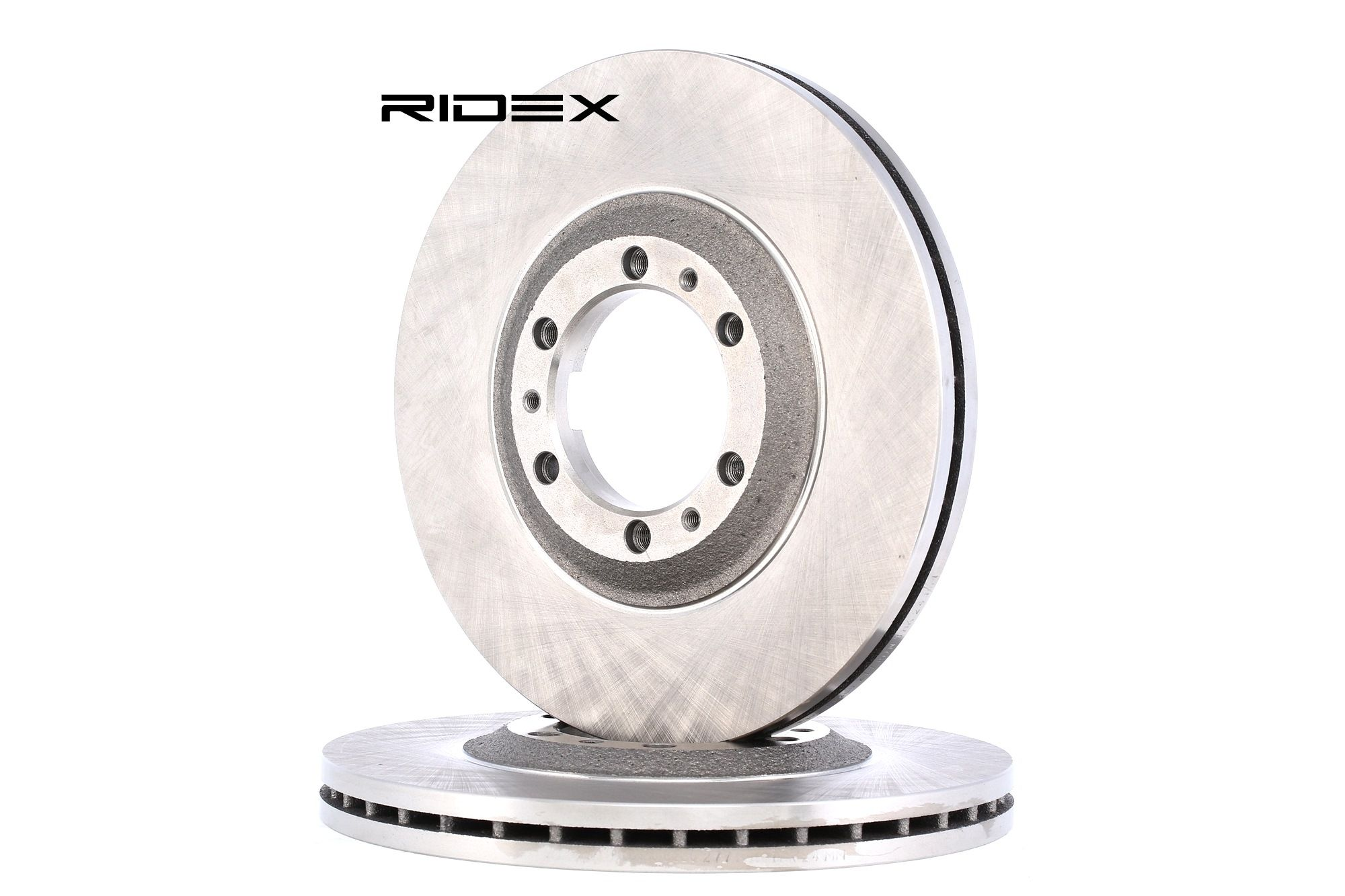 RIDEX 82B0277 Disco de freno Espesor disco freno: 26mm, Núm. orificios: 6, Ø: 280mm