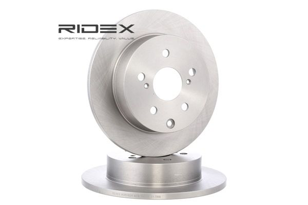 Frenos de disco RIDEX 8039036 Eje trasero, Macizo, sin buje de rueda, sin perno de sujeción de rueda