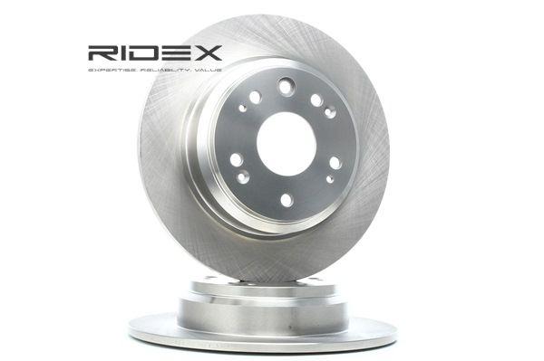 Frenos de disco RIDEX 8039107 Eje trasero, Macizo