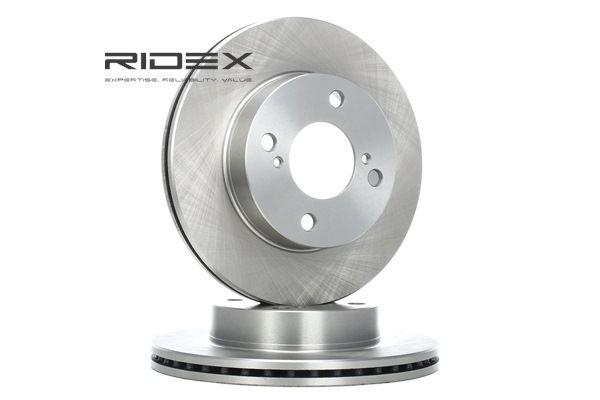 RIDEX Vorderachse, Innenbelüftet, ohne Radbefestigungsbolzen, ohne Radnabe 82B0524