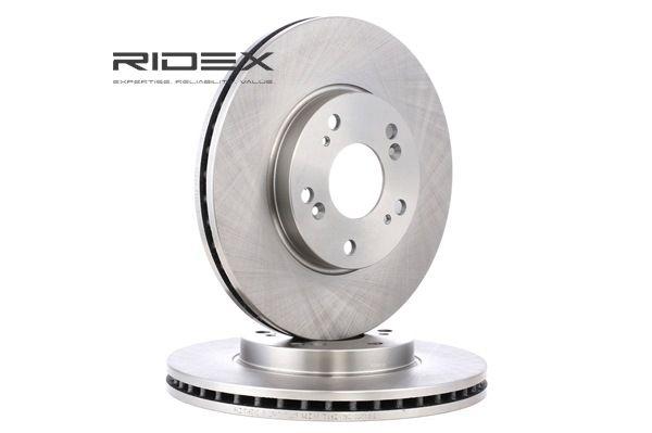 Frenos de disco RIDEX 8039372 Eje delantero, Ventilación interna