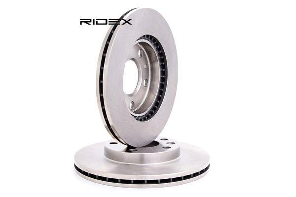 RIDEX Vorderachse, Innenbelüftet 82B0625