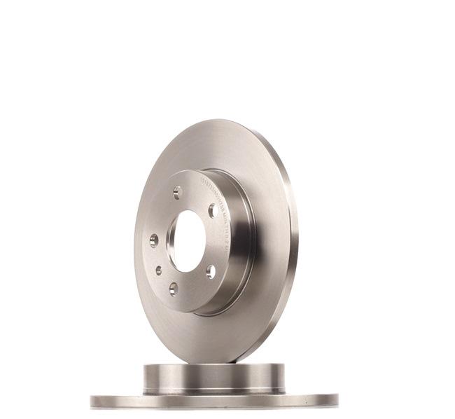 RIDEX Brake disc kit Solid