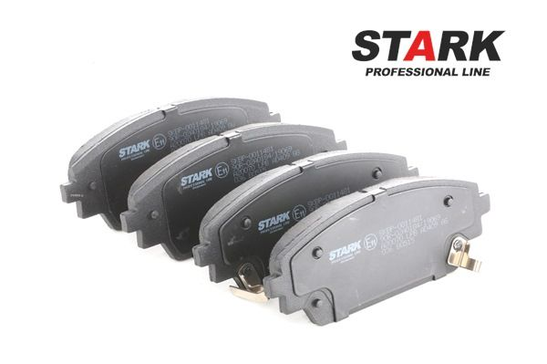 Brake Pad Set, disc brake Width: 141,9mm, Height: 55,6mm, Thickness: 15,8mm with OEM Number BHY1-33-28ZA9C