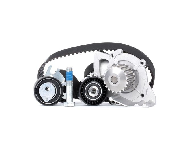 Water pump and timing belt kit Length: 1105mm, Width: 25,4mm with OEM Number 1855732