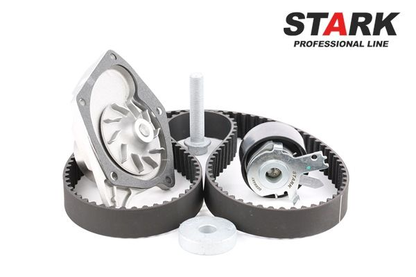 STARK Zähnez.: 123, mit Wasserpumpe, mit Schrauben SKWPT0750012