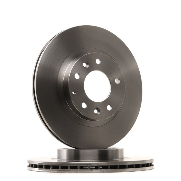 Brake discs and rotors RIDEX 8040232 Front Axle, Vented