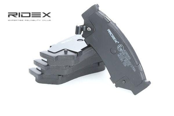 RIDEX 402B0408 Bremsekloss