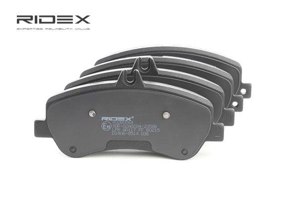 RIDEX Vorderachse, exkl. Verschleißwarnkontakt, für Verschleißwarnanzeiger vorbereitet 402B0564