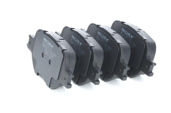RIDEX 402B0731 Brake pad set disc brake