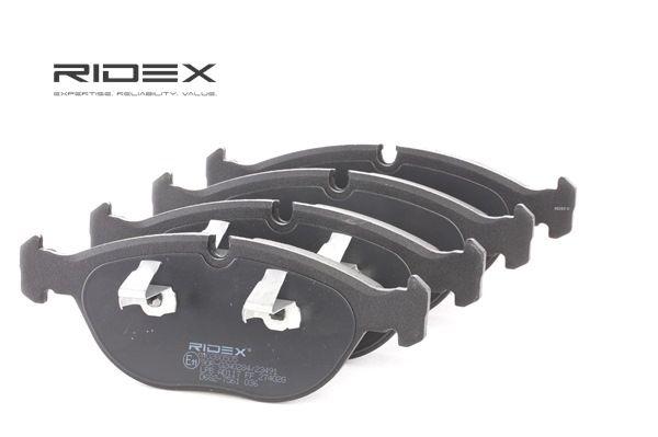 RIDEX 402B0505 Remblokkenset schijfrem