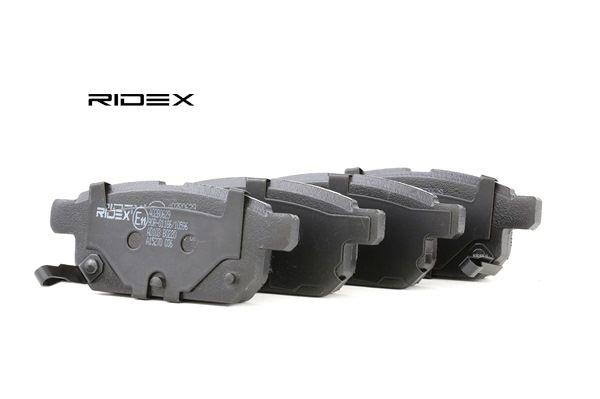 RIDEX 402B0629 Bremsekloss