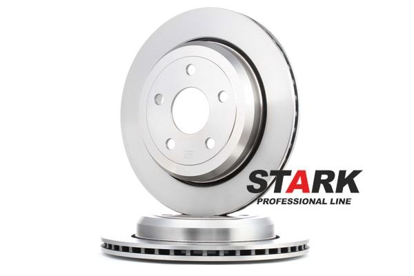 Brake disc kit JEEP GRAND CHEROKEE 4 (WK, WK2) 2017 year 8042965 STARK Externally Vented, without wheel hub, without wheel studs