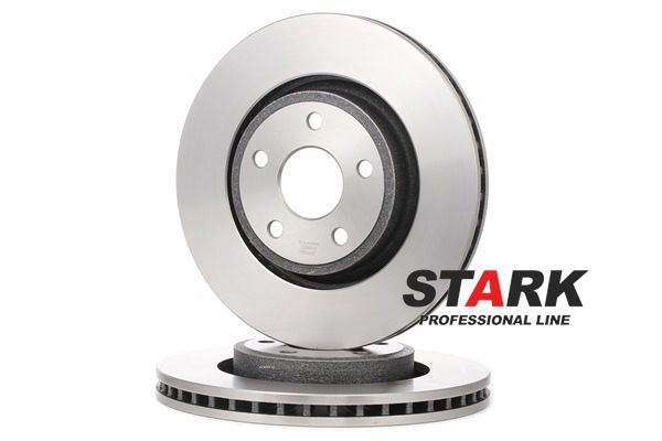 Brake disc kit JEEP GRAND CHEROKEE 4 (WK, WK2) 2011 year 8042979 STARK Externally Vented, without wheel hub, without wheel studs