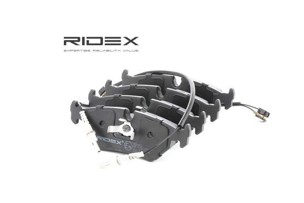RIDEX Hinterachse, mit Montageanleitung 402B0612