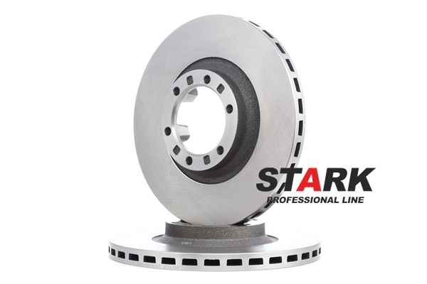 Brake discs and rotors STARK 8043286 Front Axle, Internally Vented, Vented