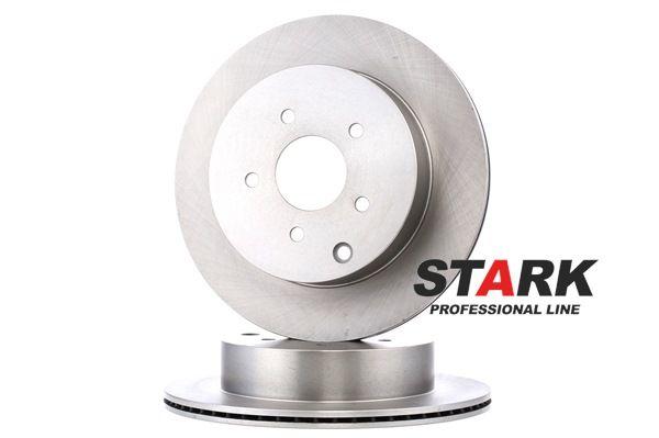 STARK Hinterachse, Innenbelüftet, ohne Radbefestigungsbolzen, ohne Radnabe SKBD0023244
