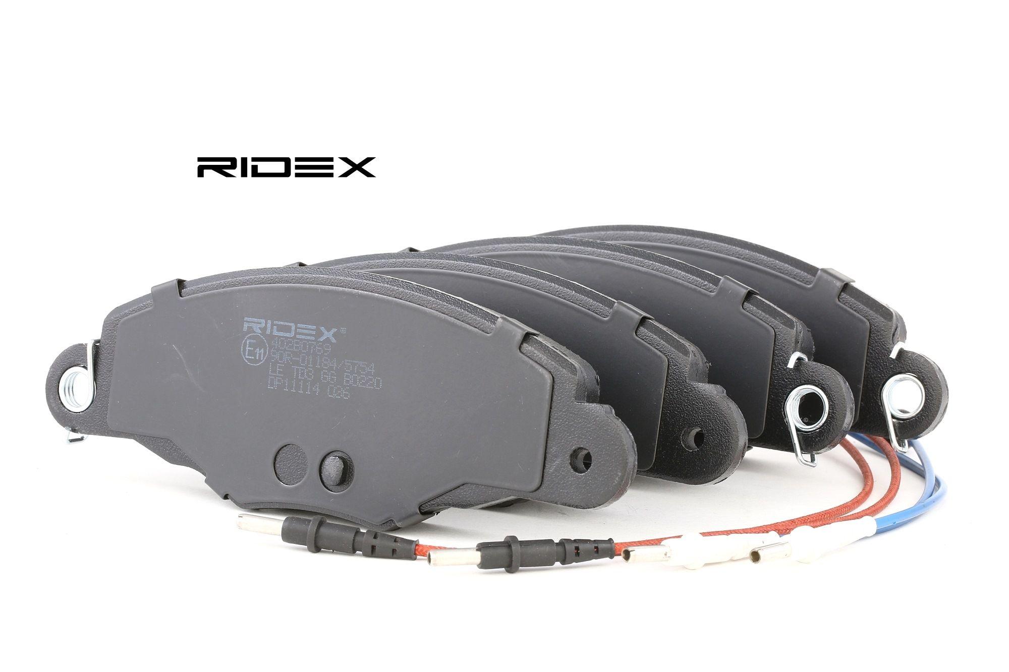 Bremsbelagsatz RIDEX 402B0769 Bewertung