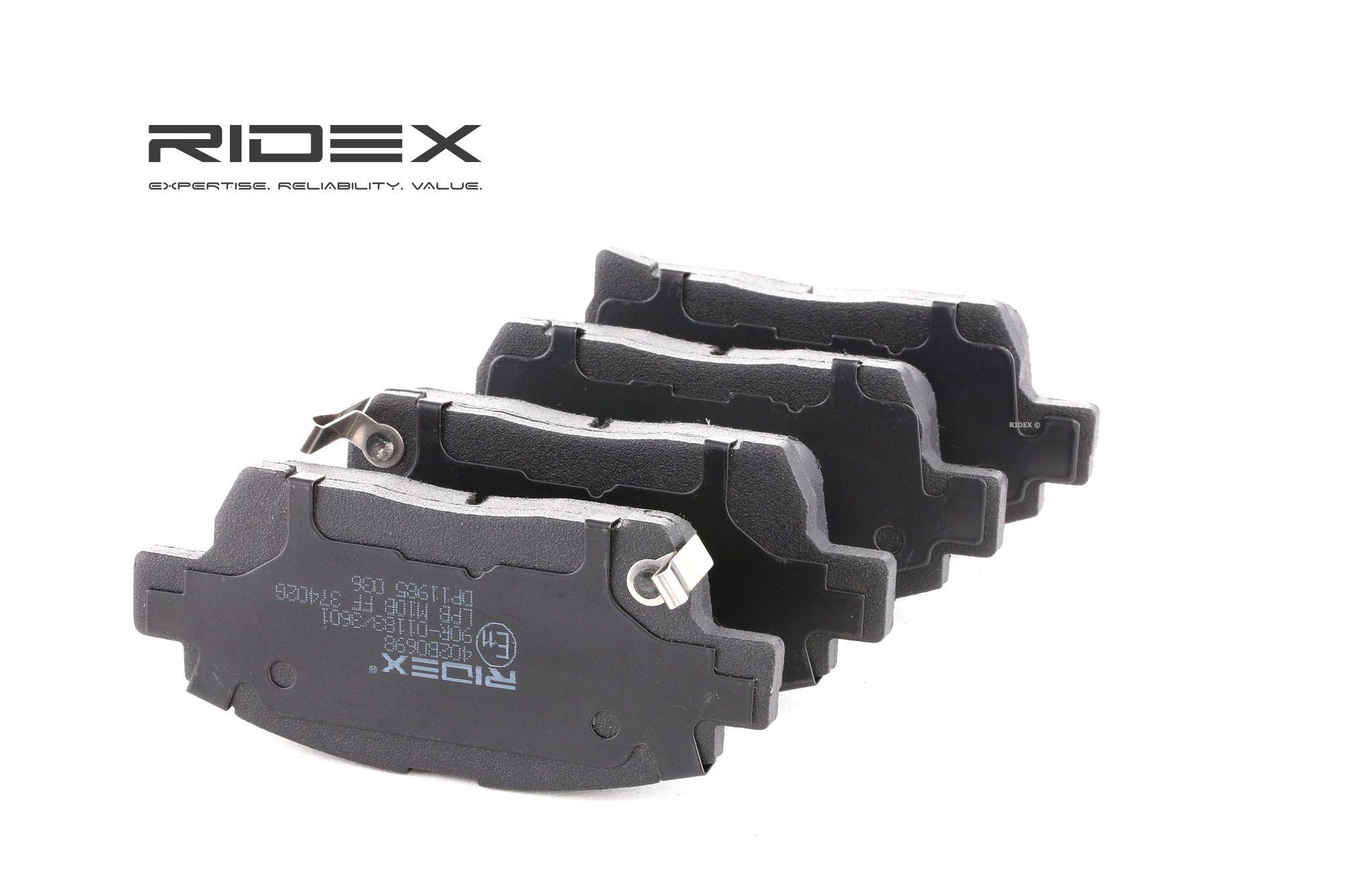 Bremsbelagsatz RIDEX 402B0698 Bewertung