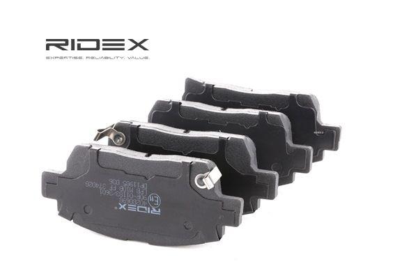 RIDEX 402B0698 Bremsekloss