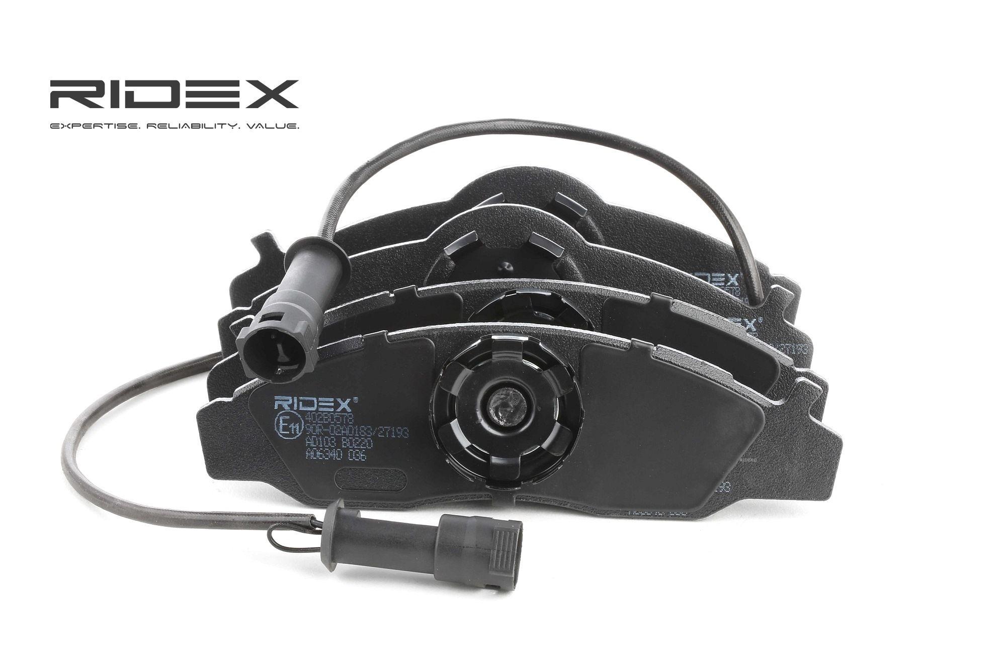 Bremsbelagsatz RIDEX 402B0578 Bewertung