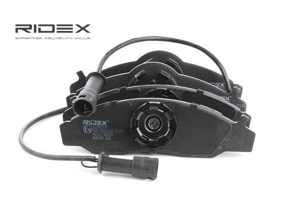 RIDEX Bremseklosser framaksel, med montageanvisning, med kolbleklips