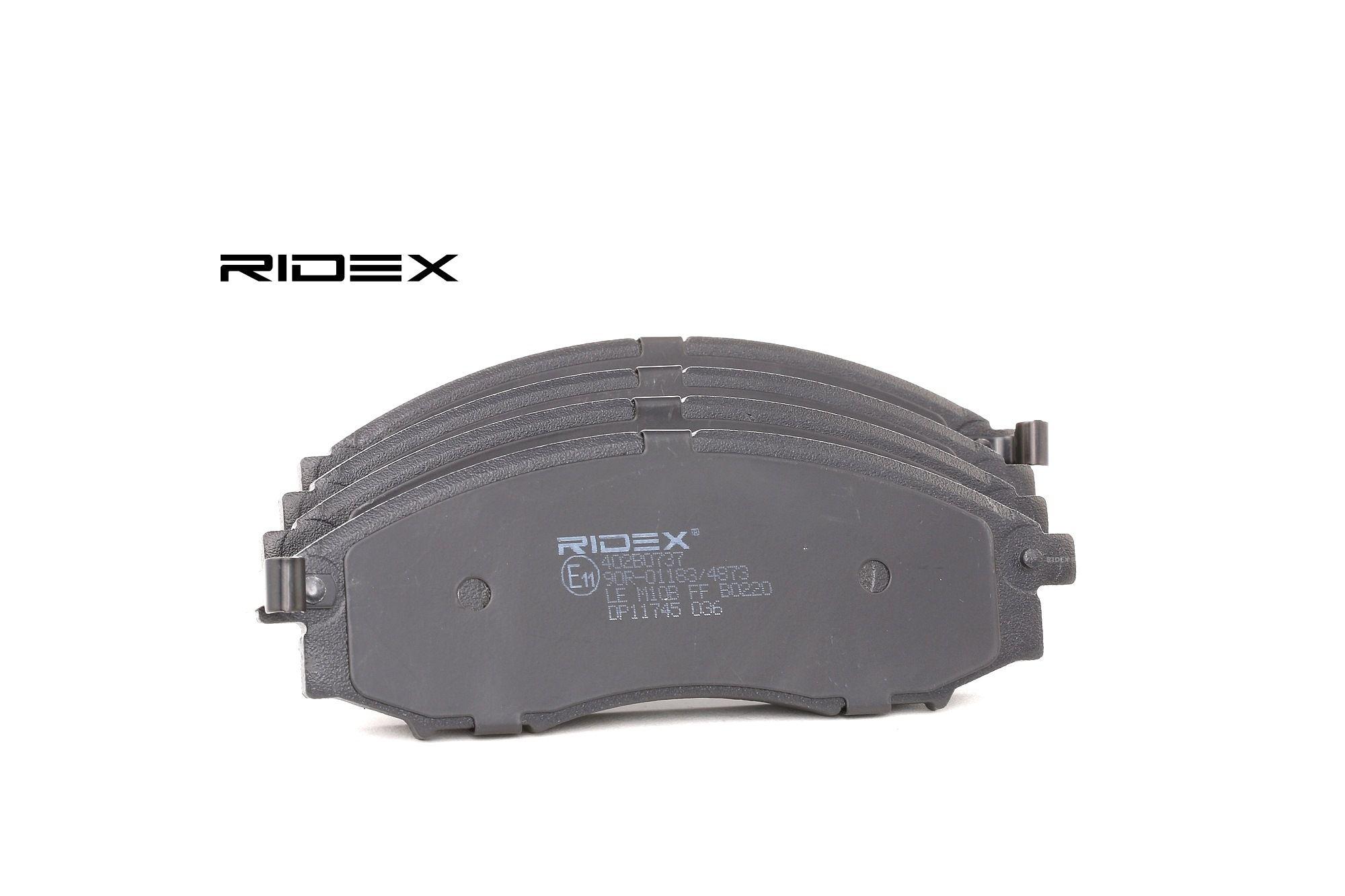 Bremsbelagsatz RIDEX 402B0737 Bewertung