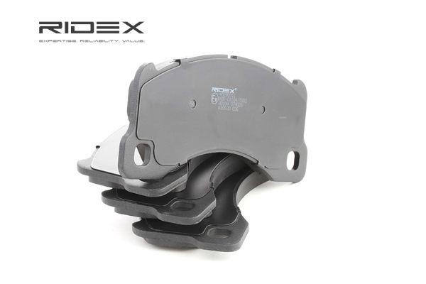 Bremssystem : RIDEX 402B0911 Bremsbelagsatz, Scheibenbremse