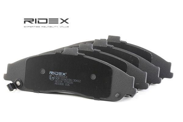 RIDEX 402B0864 Scheibenbremsbeläge CADILLAC XLR Bj 2008
