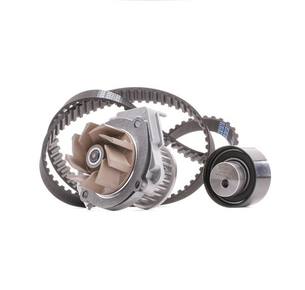 Cam belt kit STARK 8052567 Teeth Quant.: 124, with water pump
