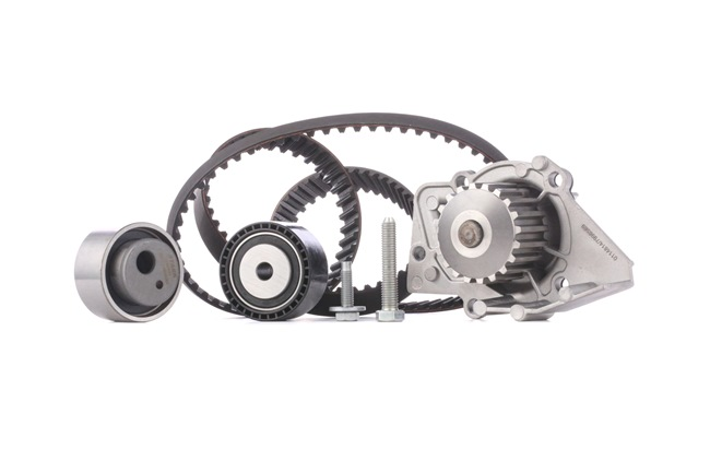 Cam belt kit STARK 8053891 Teeth Quant.: 140, with water pump