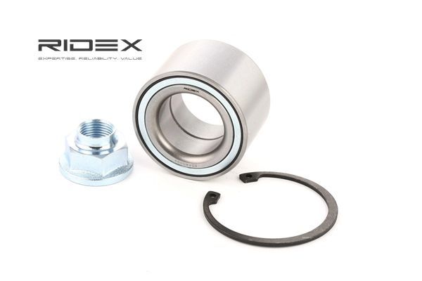 RIDEX Hub bearing SUZUKI Front axle both sides, without integrated magnetic sensor ring