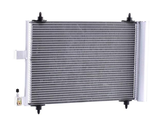 OEM Condenser, air conditioning RIDEX 448C0004