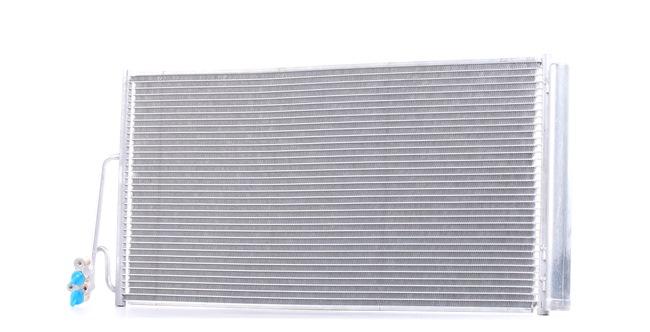 OEM Condenser, air conditioning RIDEX 448C0070
