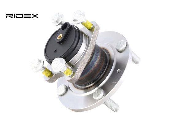 RIDEX Náboj kola MITSUBISHI zadní náprava - oboustranné, Ložisko a náboj kola integrovány