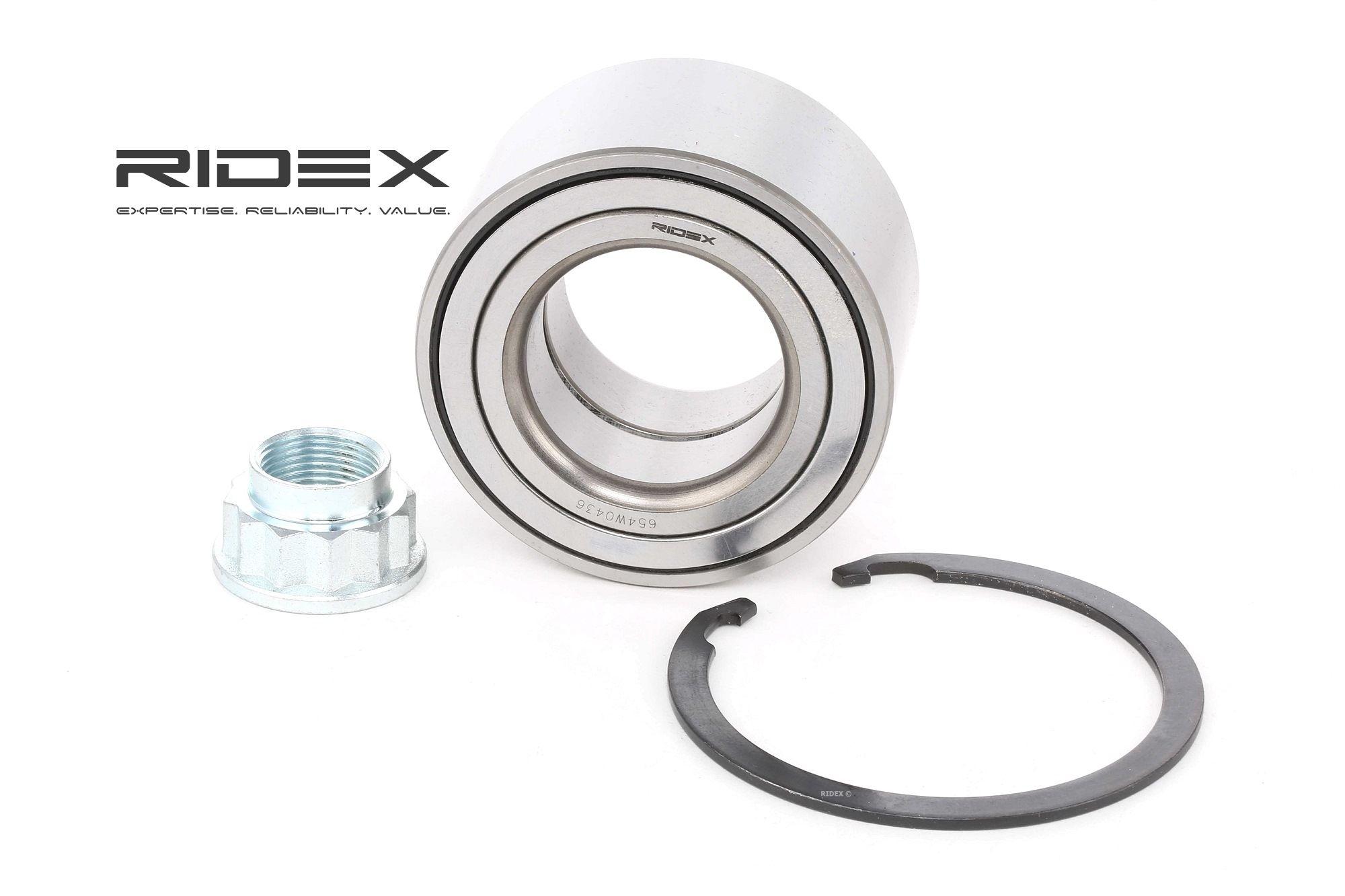 Rodamiento de Rueda RIDEX 654W0436 evaluación