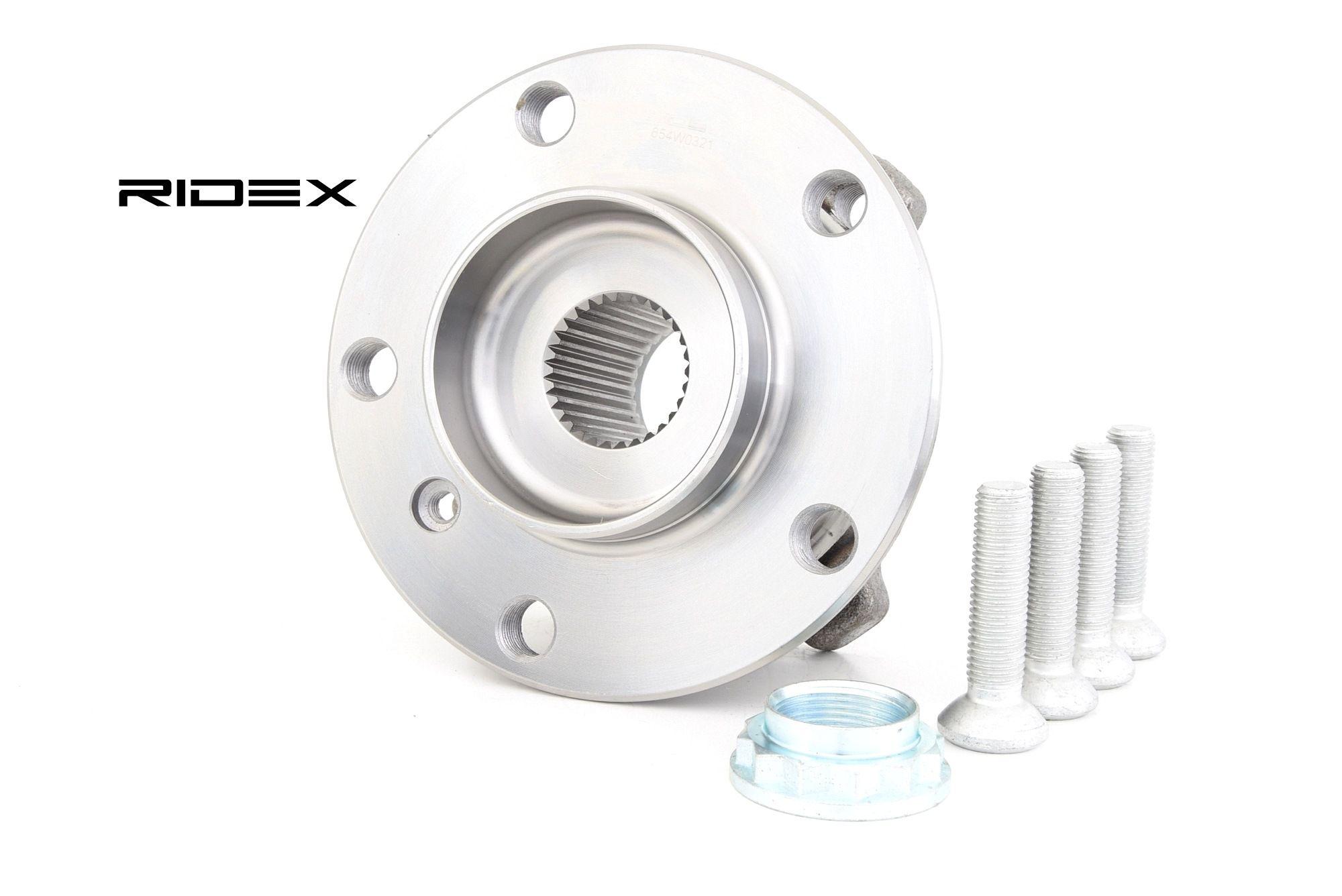 Wheel Bearing RIDEX 654W0321 rating