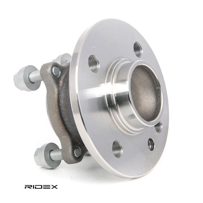 RIDEX Radlagersatz Hinterachse beidseitig, mit Befestigungsmaterial, mit integriertem Radlager, mit Anbaumaterial