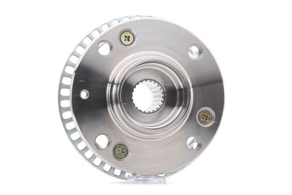 Wheel hub RIDEX 8054905 Front Axle, Front axle both sides