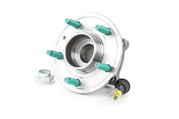 RIDEX Hinterachse beidseitig, mit integriertem ABS-Sensor, Radlager in Radnabe integriert 654W0520