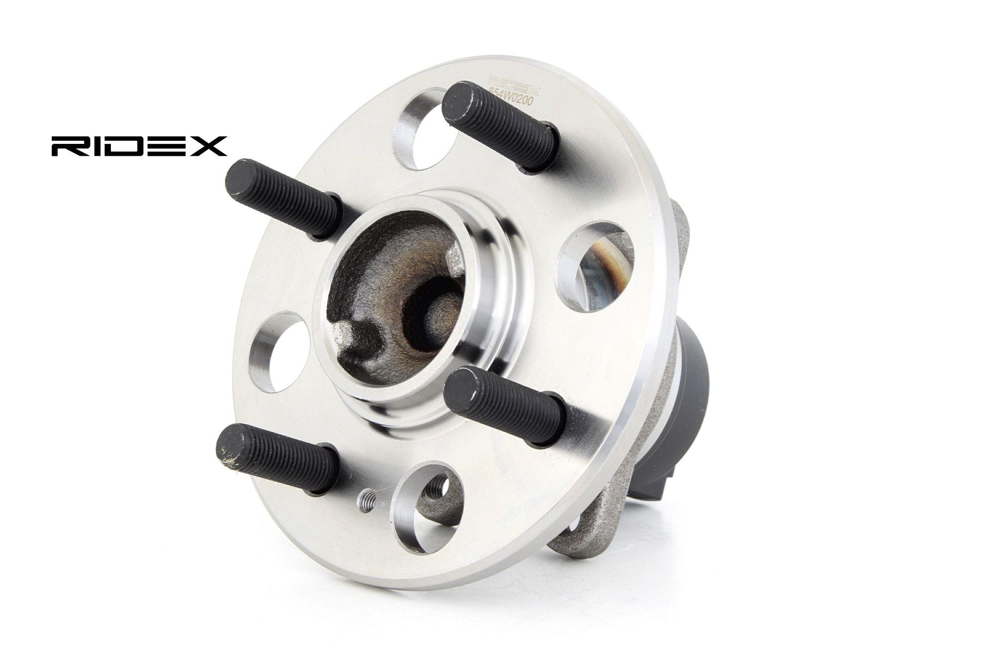Wheel Bearing RIDEX 654W0200 rating