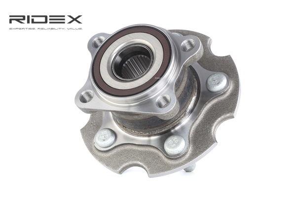 Buje de rueda RIDEX 8055813 Eje trasero, izquierda, derecha, con anillo sensor magnético incorporado