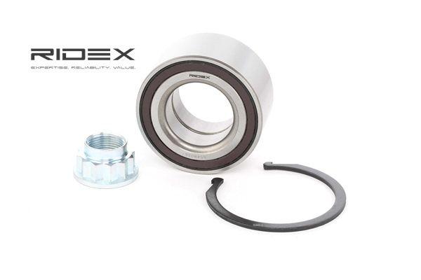 Rodamiento de rueda RIDEX 8055822 Eje delantero, izquierda, derecha, con anillo sensor magnético incorporado