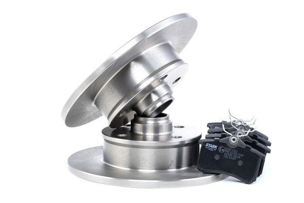 Bremsensatz, Scheibenbremse Bremsscheibendicke: 10mm mit OEM-Nummer 191615601A