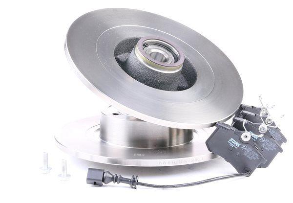 STARK Hinterachse, Voll, mit Radlager, mit ABS-Sensorring SKBK1090119