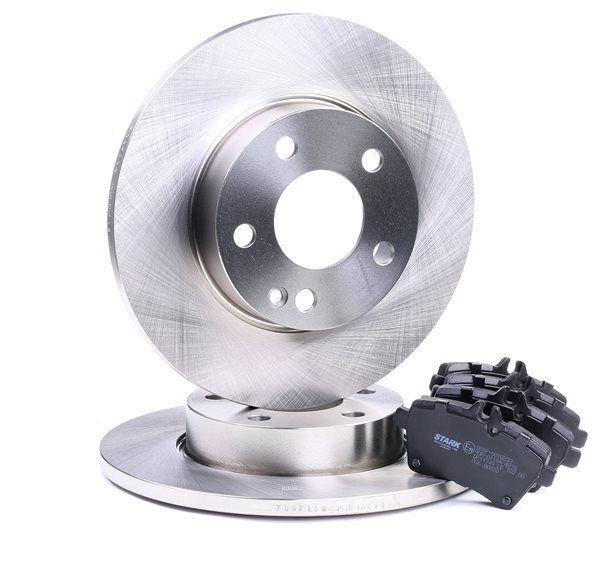 Bremsensatz, Scheibenbremse Bremsscheibendicke: 12mm mit OEM-Nummer 1694202120