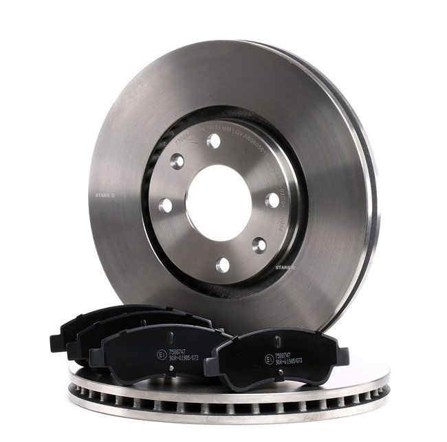 Brake Set, disc brakes Brake Disc Thickness: 26mm with OEM Number E 172 361