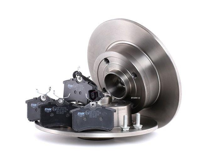 Bremsensatz, Scheibenbremse Bremsscheibendicke: 16,5mm, 8mm mit OEM-Nummer 82 00 038 305