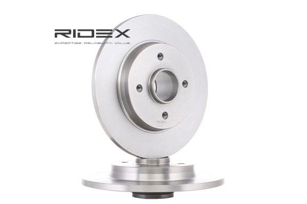 Brake discs and rotors RIDEX 8057063 Rear Axle, Solid
