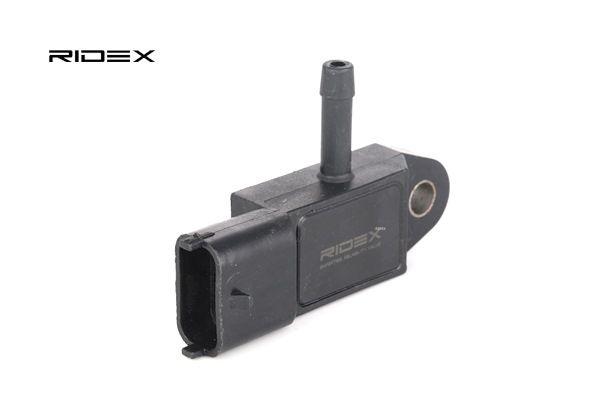 RIDEX Αισθητήρας πίεση υπερπλήρωσης DACIA